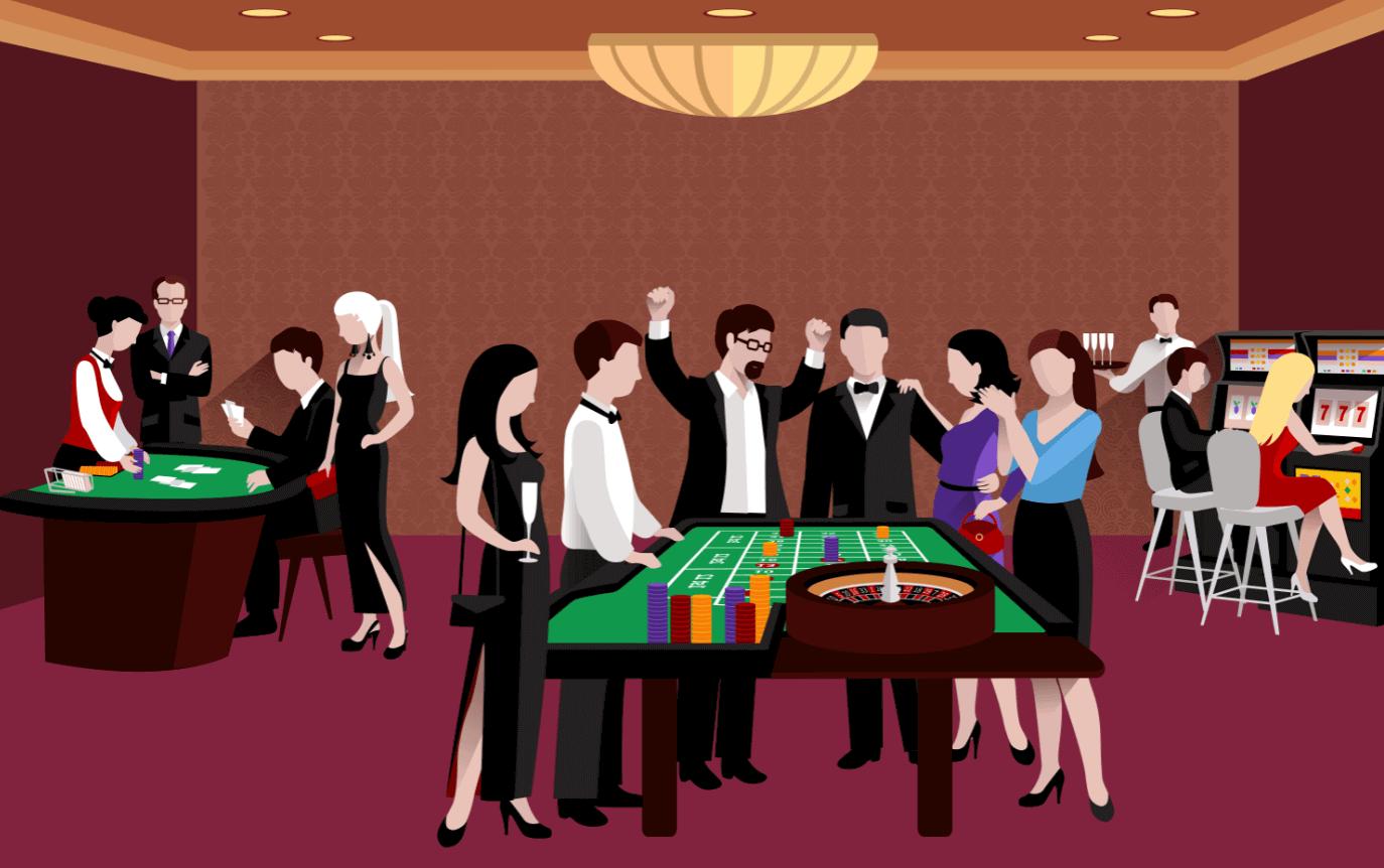 Folk pa Casino