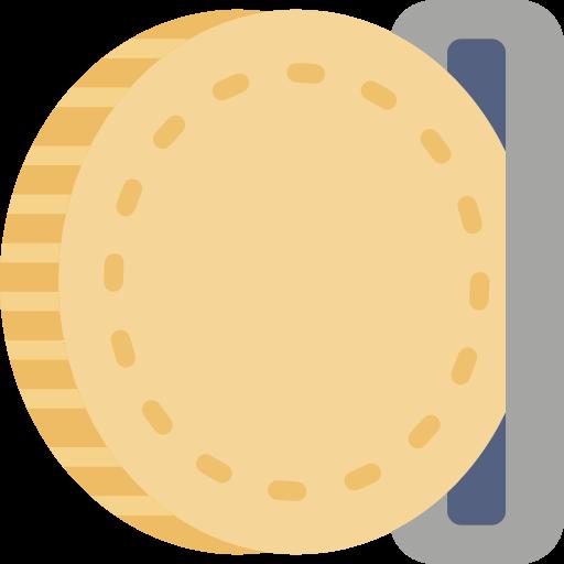 indsæt mønter ikon